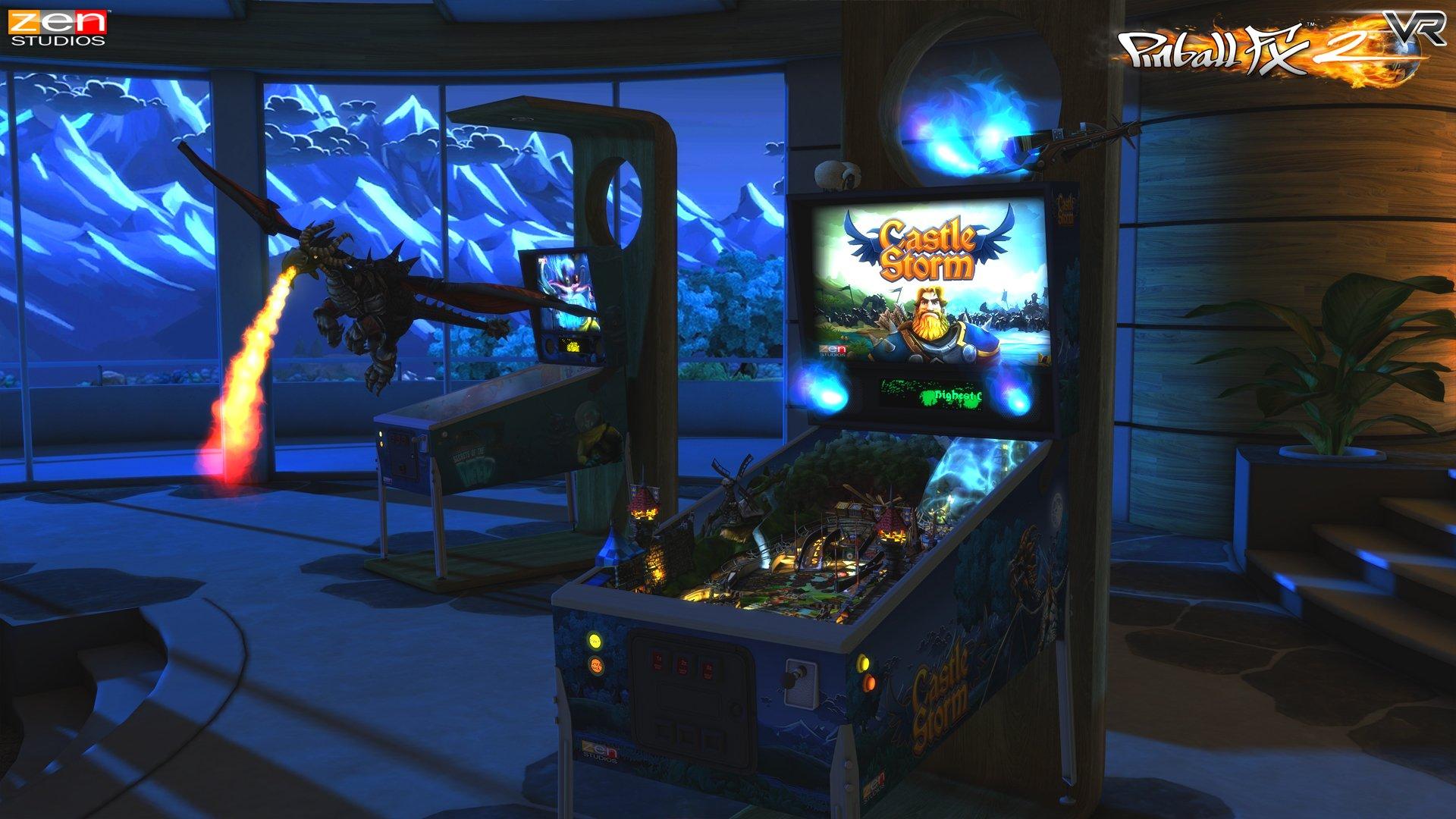 Pinball_FX2_VR_gear_vr_screenshot_CastleStorm