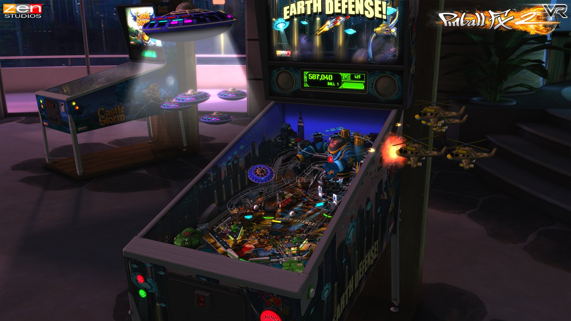 Pinball_FX2_VR_gear_vr_screenshot_EarthDefense