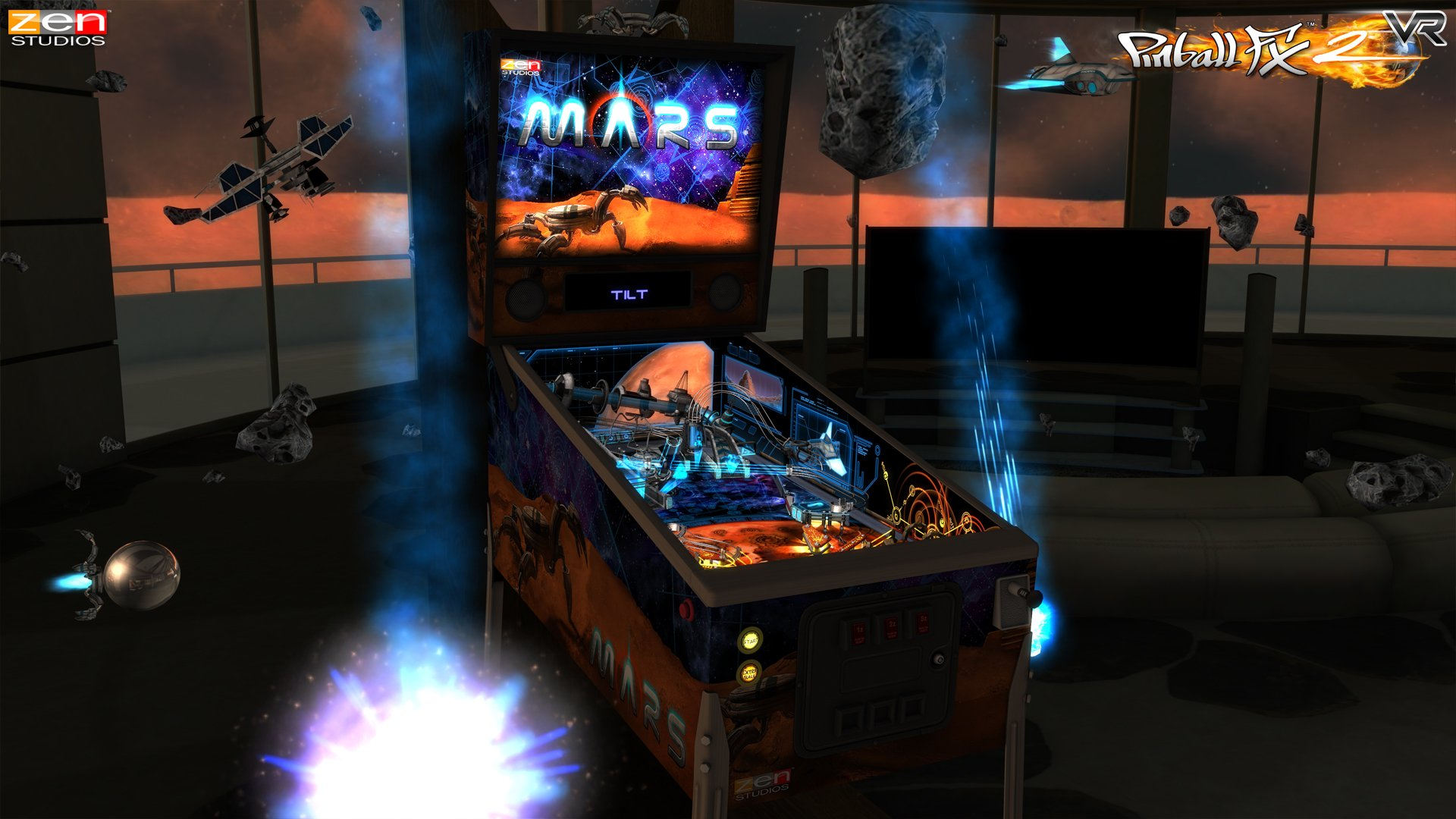 Pinball_FX2_VR_gear_vr_screenshot_Mars