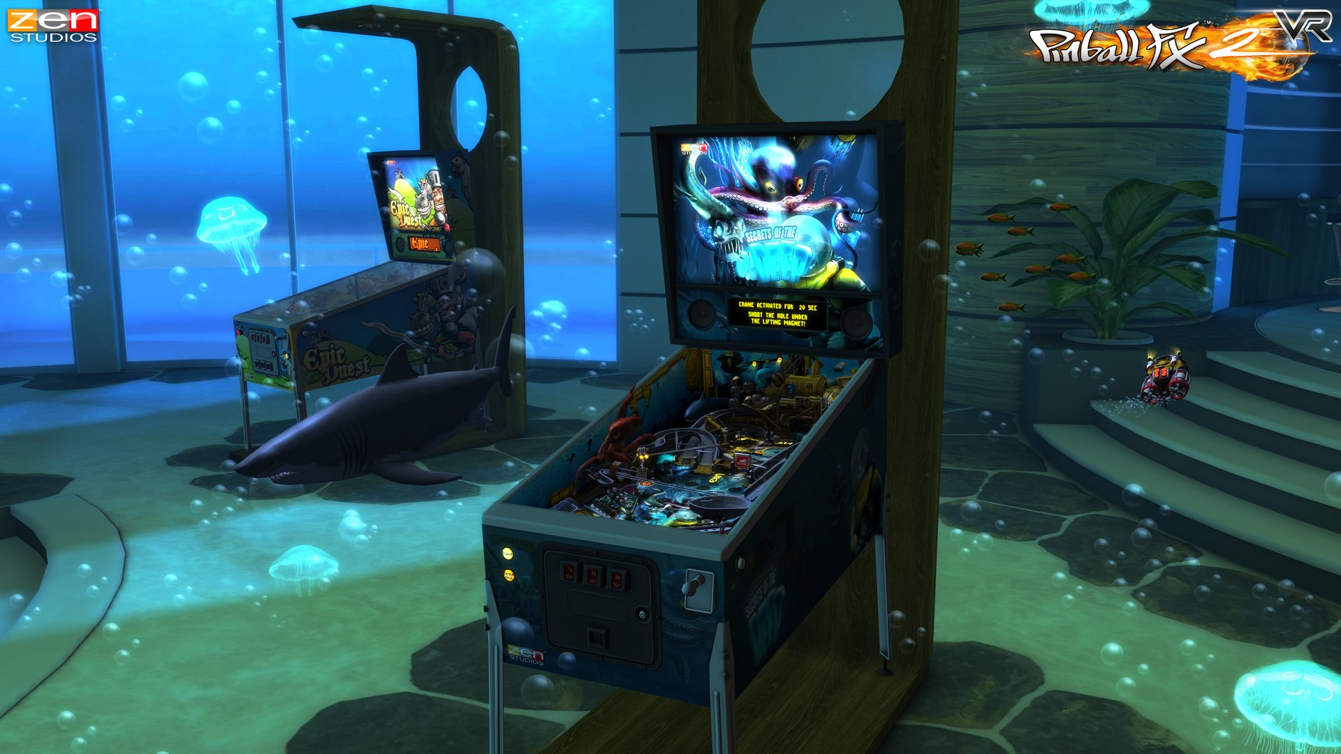 Pinball_FX2_VR_gear_vr_screenshot_Secrets_of_the_Deep
