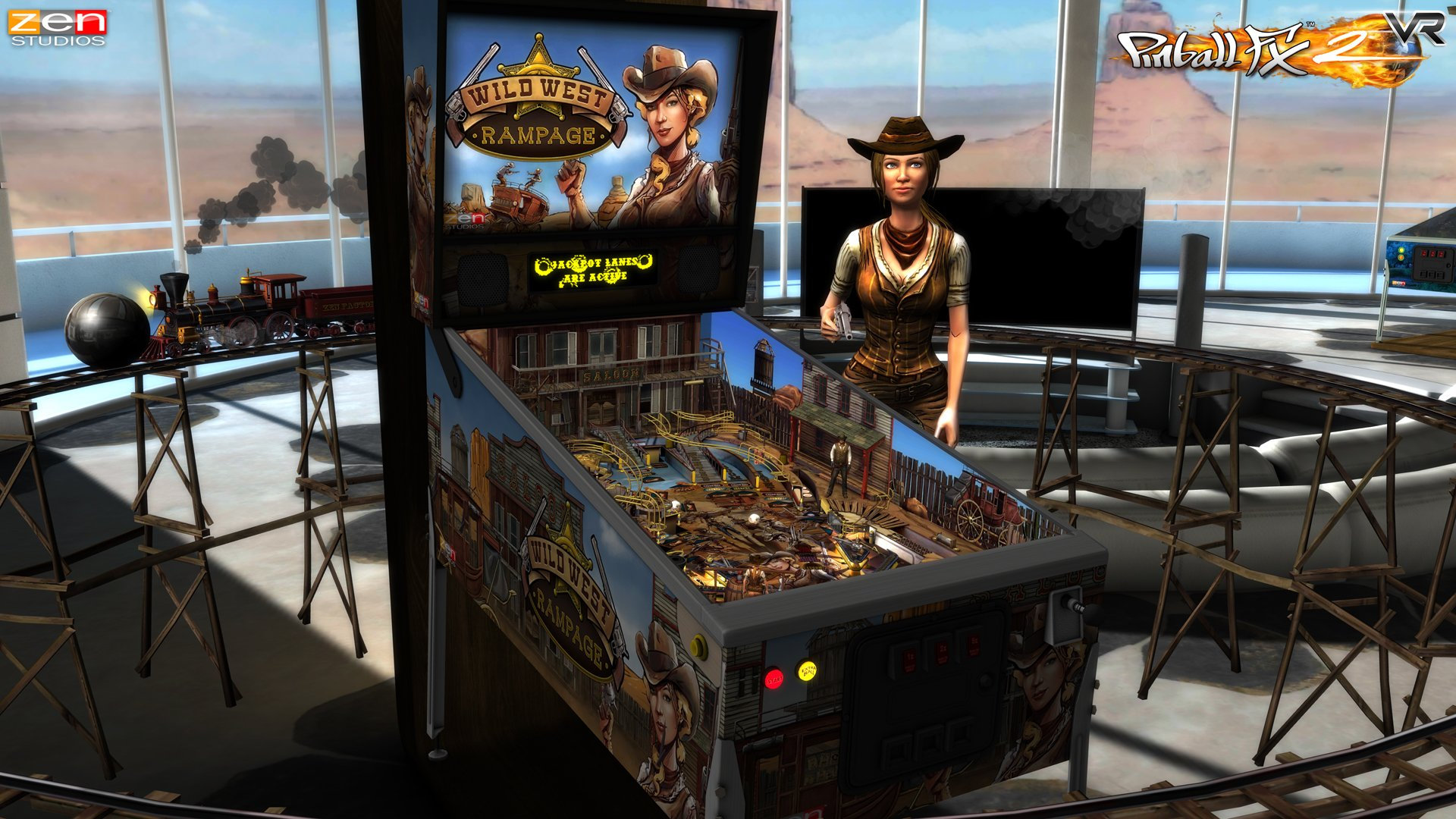 Pinball_FX2_VR_gear_vr_screenshot_WildWest